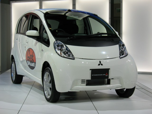 Mitsubishi MiEV - Best Buy Geek Squad
