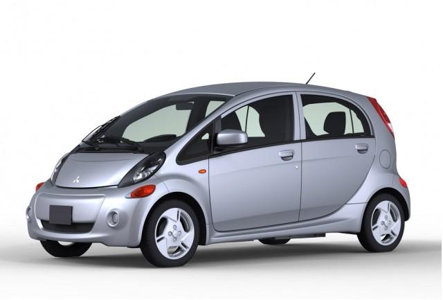 U.S.-spec Mitsubishi i-MiEV