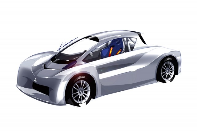 Mitsubishi i-MiEV Prototype for 2012 Pikes Peak Int'l Hill Climb