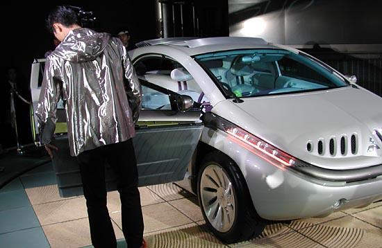Mitsubishi SUP concept 2001 Tokyo