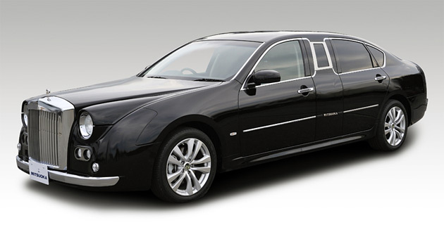 Mitsuoka Galue Limousine S50 Based On The Infiniti M35