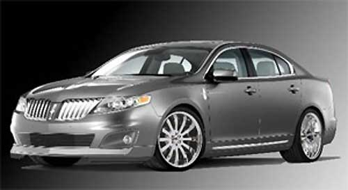 2009 Lincoln MKS by 3dCarbon