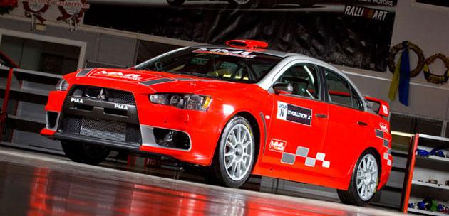 MML Sports unveils Mitsubishi Evo X Group N rally car