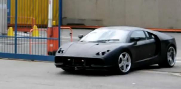 Modern De Tomaso Pantera prototype