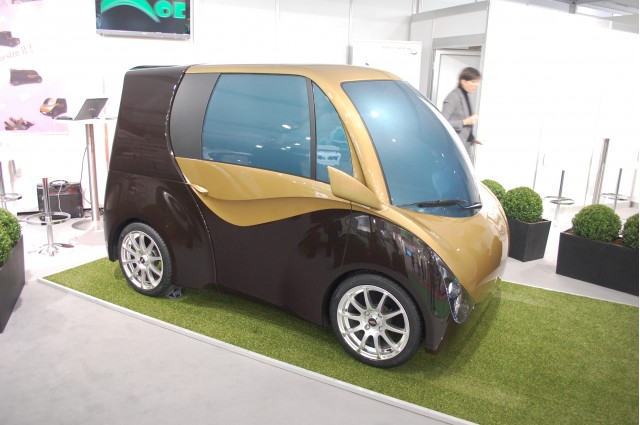 Moduléo adaptable electric car, 2011 Geneva Motor Show