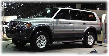 montero, 1999 New York Auto Show