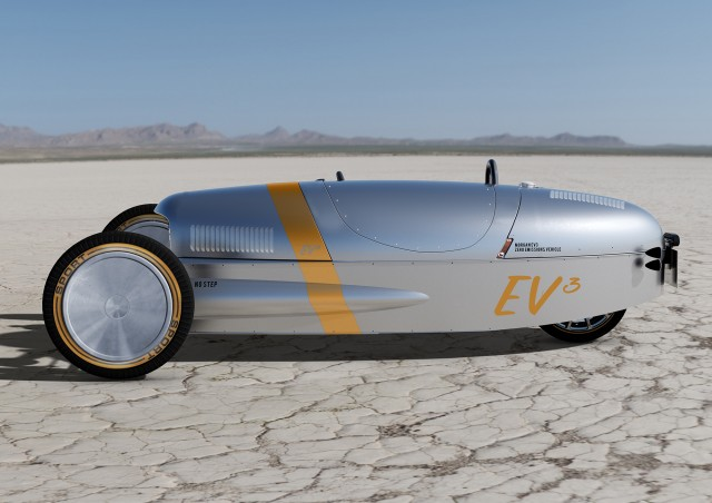 Morgan EV3 Three Wheeler