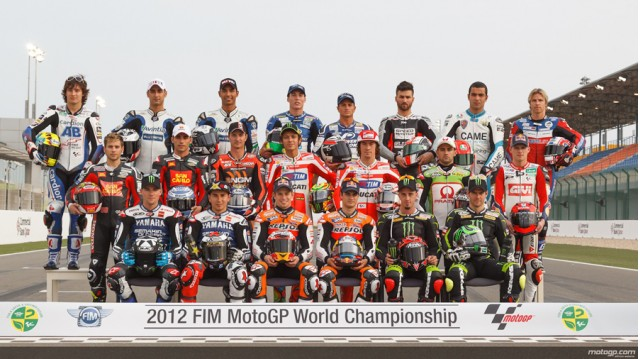 MotoGP Class of 2012 - Courtesy MotoGP