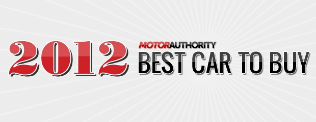 Motor Authority's Best Car To Buy 2012