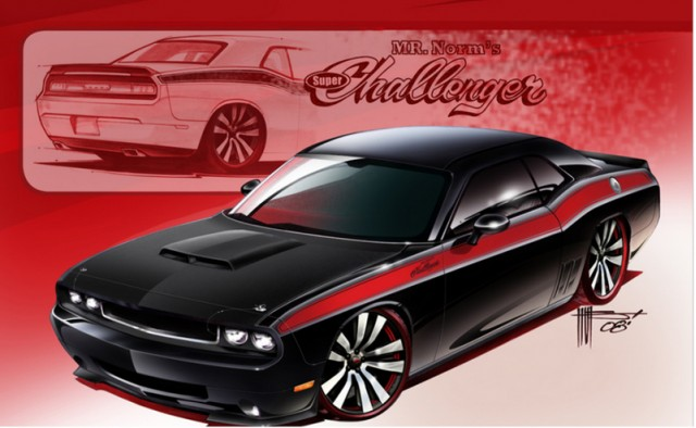 mr norm dodge challenger sema 002