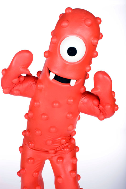 Muno from Nickelodeon's 'Yo Gabba Gabba'