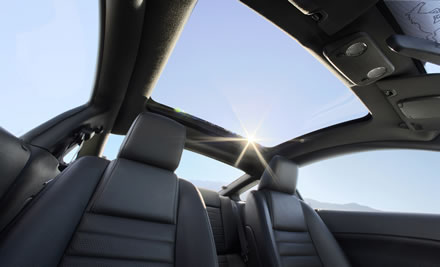 2009 Ford Mustang Gets Glass Roof Option