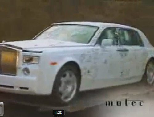 Mutec Rolls-Royce Phantom Armored