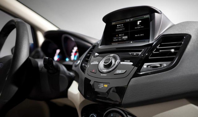 MyFord Touch system in the 2014 Ford Fiesta - image: Ford Motor Company