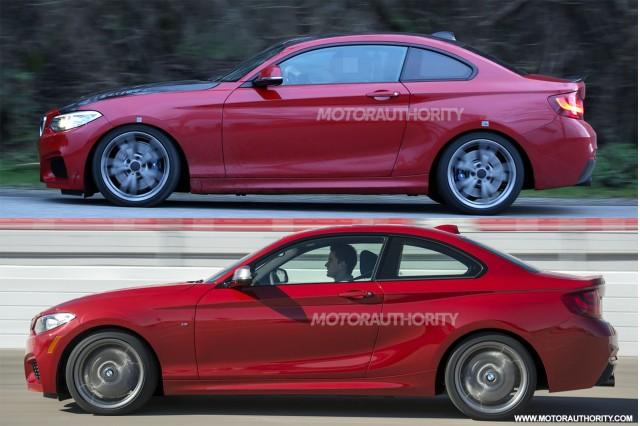 Mysterious BMW prototype spy shots