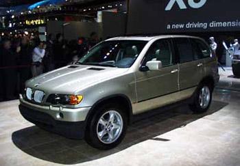 NAIAS_BMW_X5, 1999 Detroit Auto Show