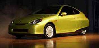 NAIAS_Honda_Hybrid, 1999 Detroit Auto Show