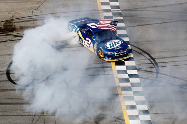 NASCAR photo of Brad Keselowski