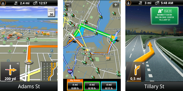 Navigon MobileNavigator for Android
