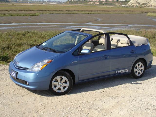 NCE's Toyota Prius DropTop