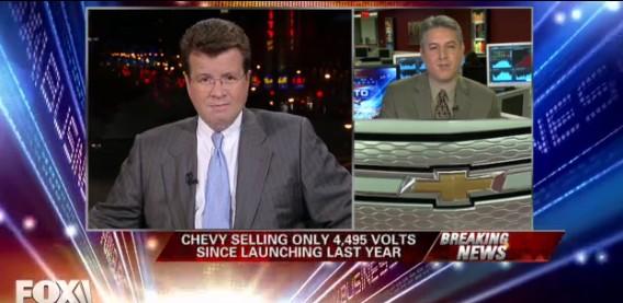 Neil Cavuto Targets Chevrolet Volt Owner Eric Rotbard