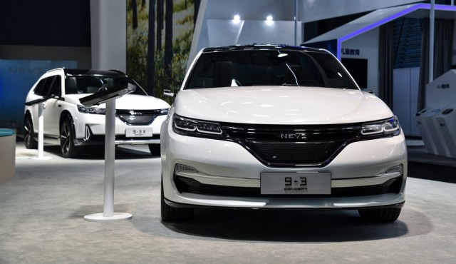 Electric Car Range >> NEVS reveals Chinese electric cars based on former Saab 9-3, 9-3X models (updated)