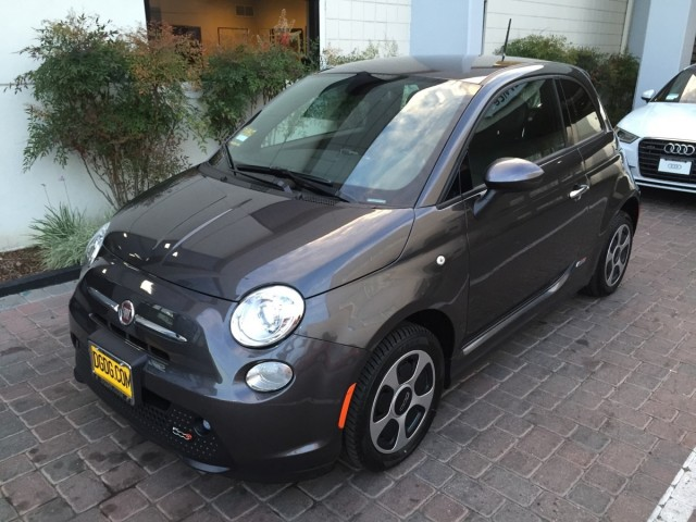 New 2015 Fiat 500e, San Jose, California, March 2015  [snapshot: Joe Nuxoll]