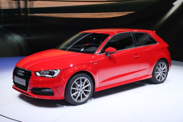 New Audi A3 Hatchback live photos, 2012 Geneva Motor Show