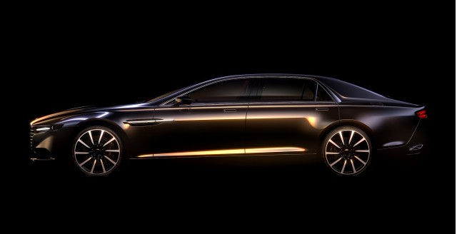 New limited-edition Aston Martin Lagonda sedan