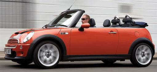 New Mini Cooper Convertible coming in March 2009