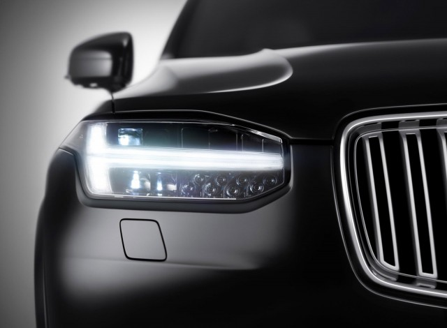 Teaser for new Volvo XC90
