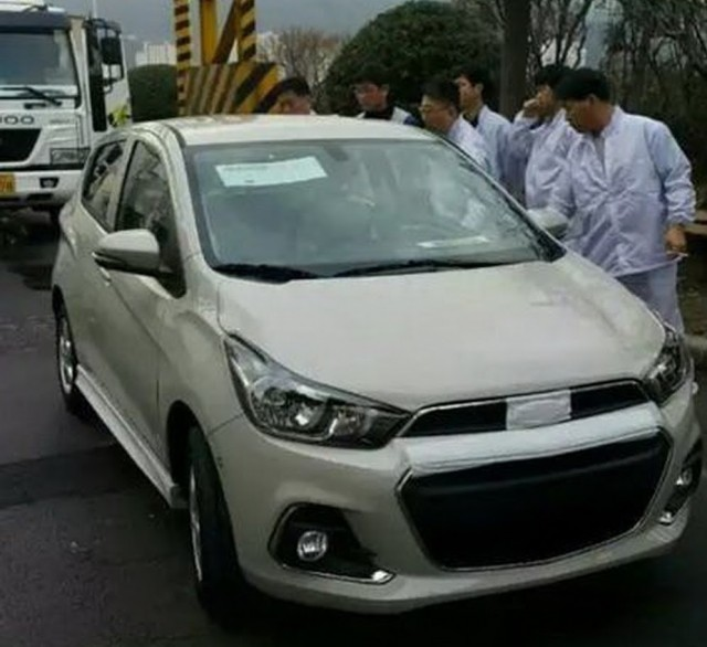 next-generation 2017 Chevrolet Spark testing in South Korea [photo: BobaEdream.co.kr