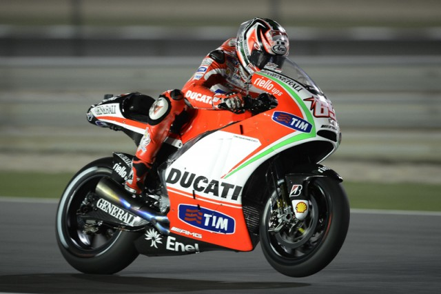 Nicky Hayden - courtesy Ducati