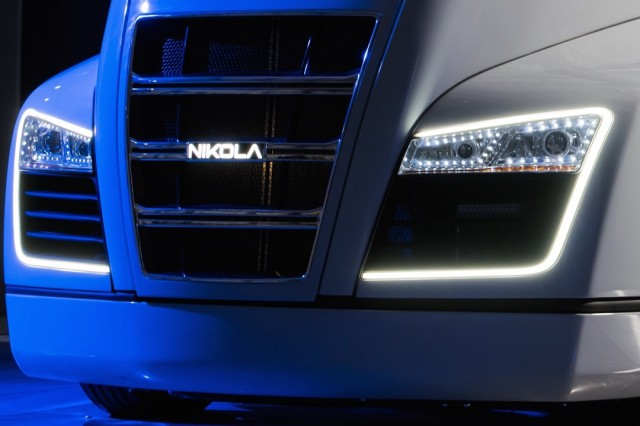 Nikola One hydrogen range-extended electric truck to be ...