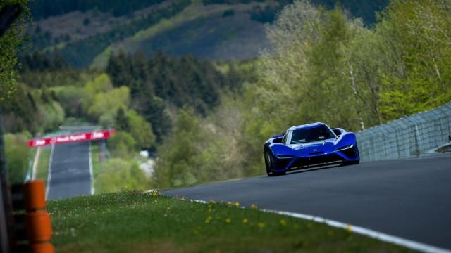 Nio EP9 clocks a 6:45.9 Nürburgring lap time on May 12, 2017