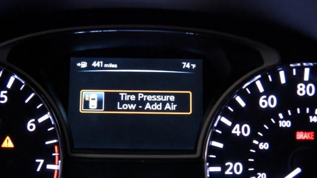 Nissan Altima Tire Pressure Assistant