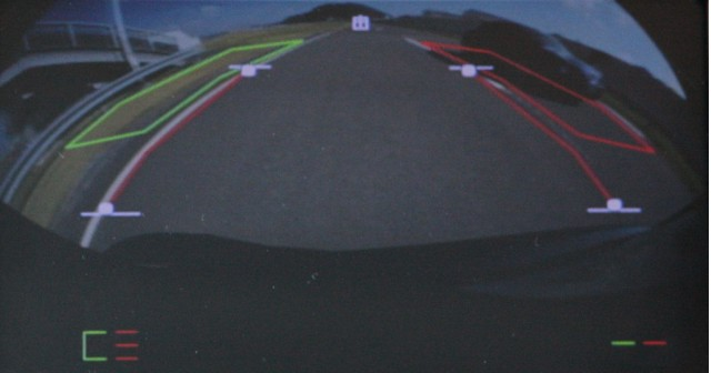 Nissan camera-based Blind Spot Warning