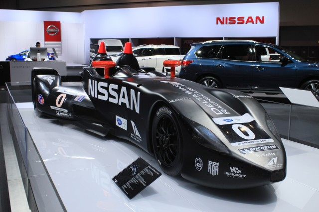 Nissan DeltaWing race car, 2012 L.A. Auto Show