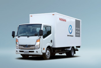 Nissan e-NT400 Electric Truck