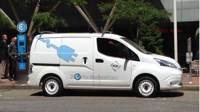 Nissan e-NV200  -  First Drive, June 2014