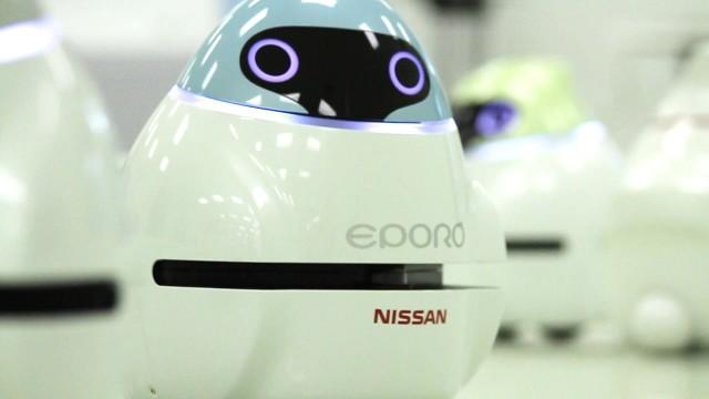 Nissan EPORO autonomous robots