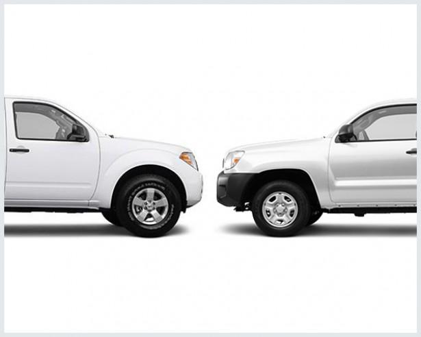 Nissan Frontier Vs. Toyota Tacoma