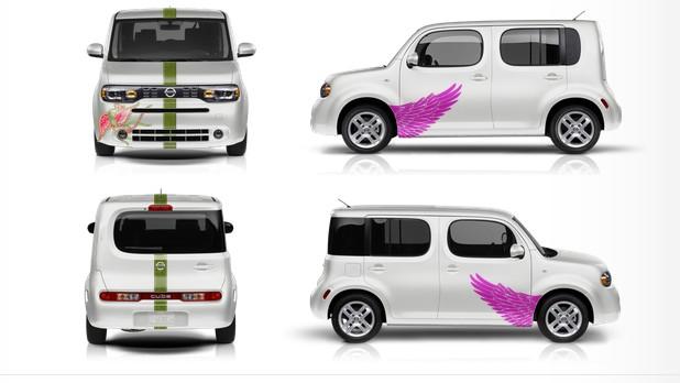 Nissan Graphics Cube - order printout