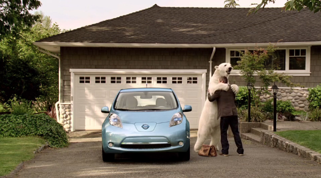 Nissan Leaf 'polar bear' ad