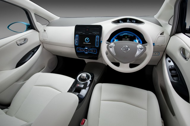 Nissan LEAF Interior