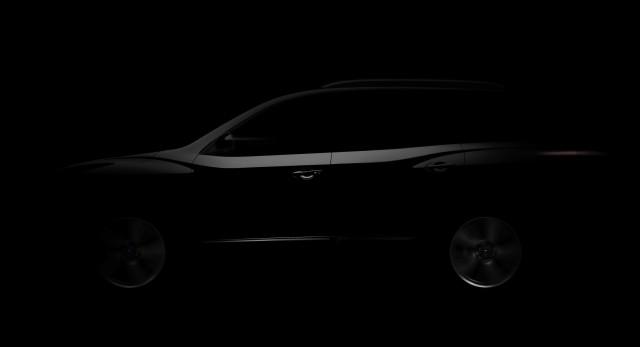 Nissan Pathfinder Concept Teaser