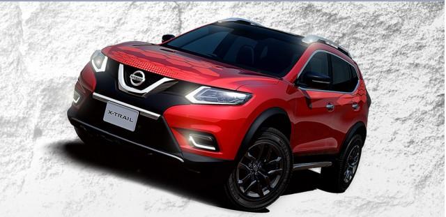 Nissan X-Trail X-Tremer concept, 2014 Tokyo Auto Salon