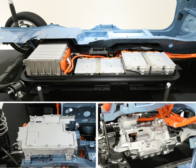 2011 Nissan Leaf - battery pack