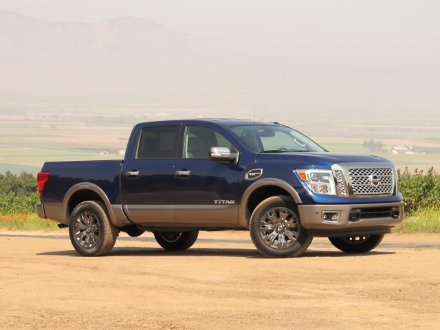 2017 Nissan Titan, California Press Drive, July 2016