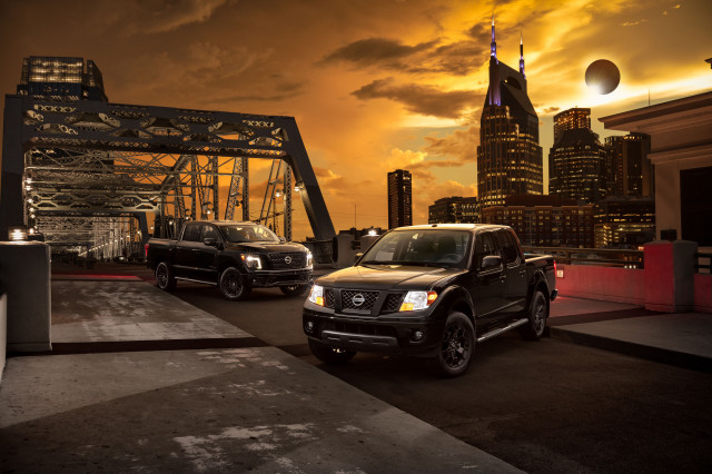 Nissan Introduces Midnight Editions Of The Frontier, Titan, And Titan XD